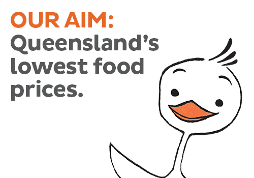 Queenslands lowest food pri es